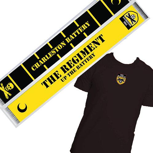 Premium Membership - Scarf and T-Shirt combo