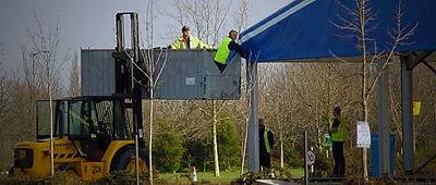 Safety working around forklifts