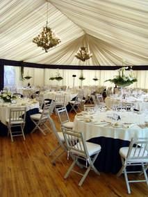 Elegante tenda di evento