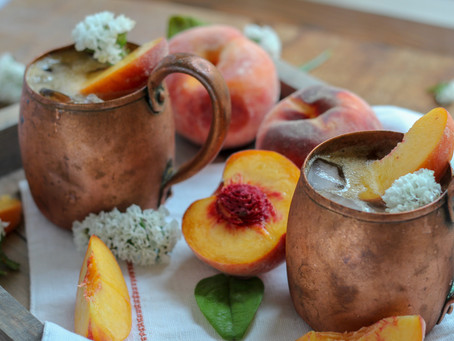 Peach Pie Moonshine Mule