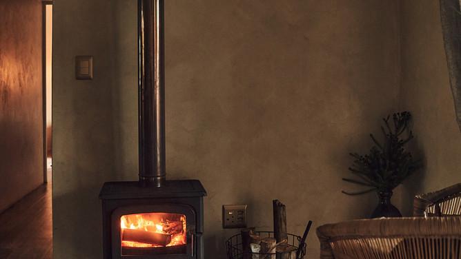 Farmstead Twobedroom cottage fireplace.jpg
