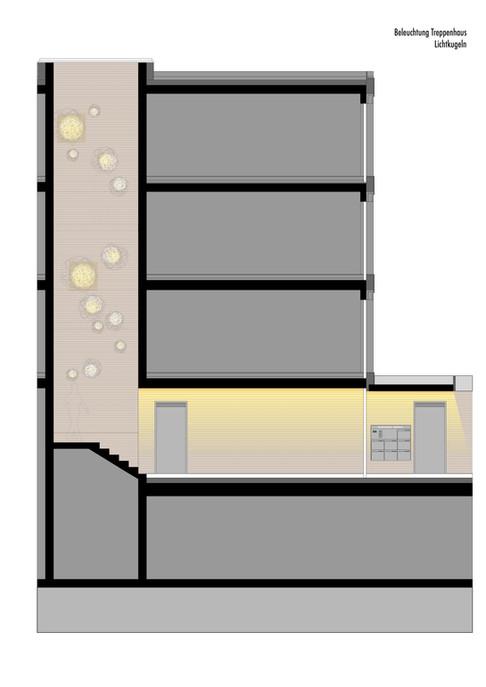 Treppenhaus Beleuchtung