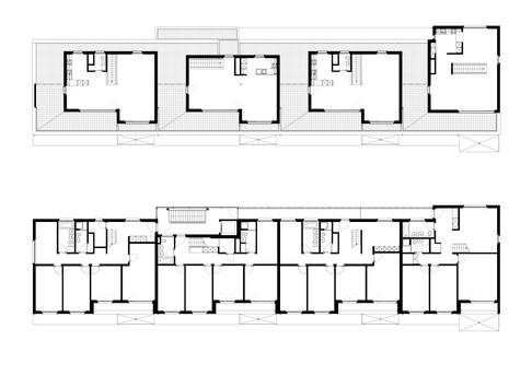 oberste Wohnungen Haus 5