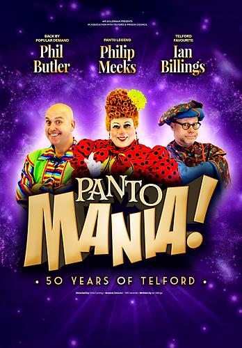 Pantomania. Easter Pantomime Telford 2018