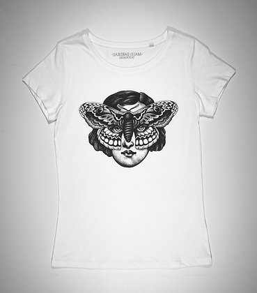 """T-shirt """"FEMME PAPILLON"""" Maud Dardeau Tatouages FEMME"""