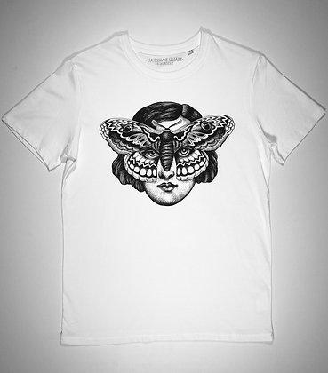 """T-shirt """"FEMME PAPILLON"""" Maud Dardeau Tatouages HOMME"""