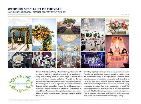 Award - Picture Perfect Event Design 210