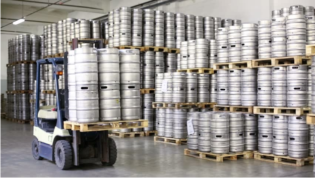 Beer warehouse