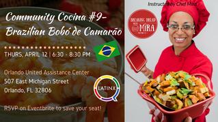Community Cocina: Brazilian Bobó de Camarão