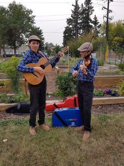 Music at the gardens