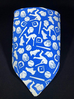 Blue Baseball Bandana