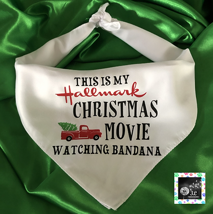 My Hallmark Christmas Movie Watching Bandana