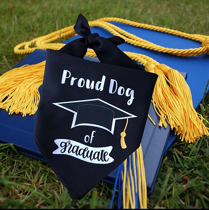 Proud Dog of Graduate