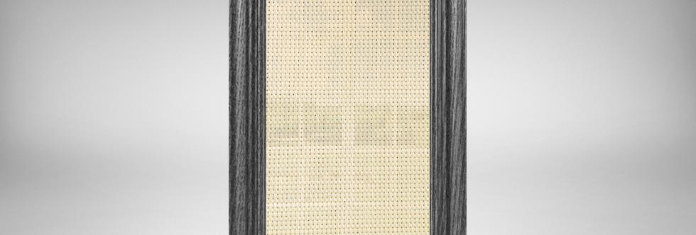 Black Espresso Wood Oak Frames with Customizable Fabric