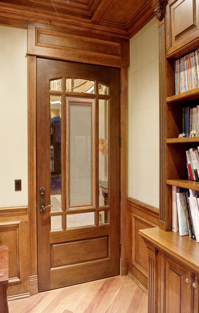 Study room door coverings