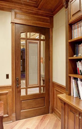 Study room door coverings