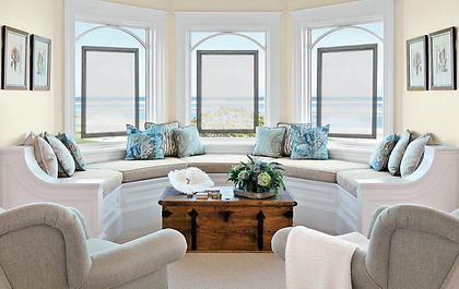Coastal window coverings