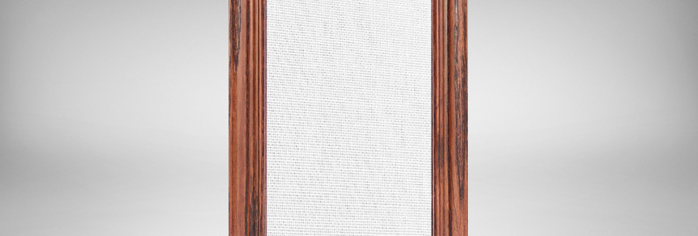Red Chestnut Oak Wood Frames with Customizable Fabrics