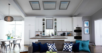 Skylight Window Covers Kitchen