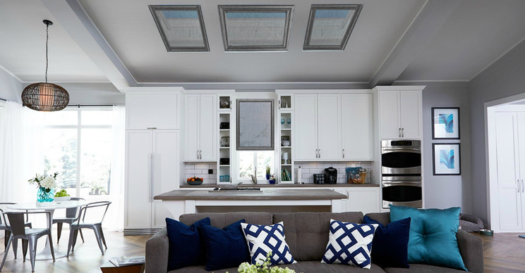 Skylight Window Covers Kitchen