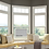 Beautiful stained wood frames for covering your windows