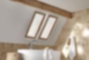 New SHAADS Bathroom Skylight Cover Brown
