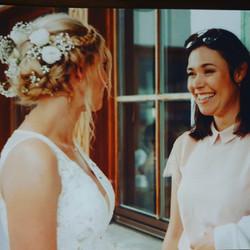 So eine hübsche Braut!