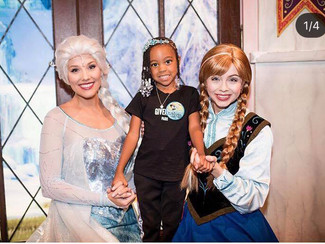 Monica's daughter Laiyah Brown turns 4