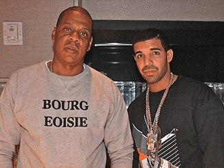 Odd or Supportive? Drake asks Restaurant to Play Jay-Z's new album in his presence.