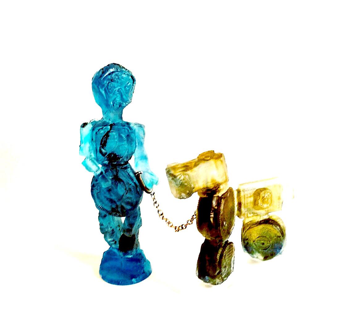 Robot & Robo-Dog - Sheryl Vaughan 78 DPI