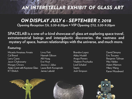 SPACELAB: An Interstellar Experience featuring 'Television Glass' Sweet Nothing by Hannah Gi