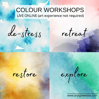 Colour Workshops © Anjli Gheewala