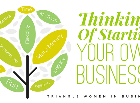 Thinking of Starting Your Own Business?