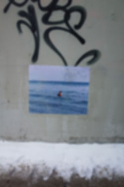 james-lai-wheat-paste-photo-man-swimming