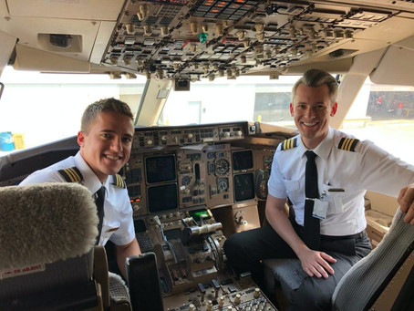 A Day in the Life: International Airline Pilot