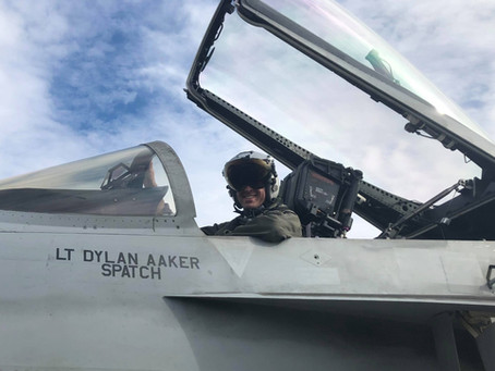 A Day in the Life: F/A-18 Naval Aviator, Dylan Aaker