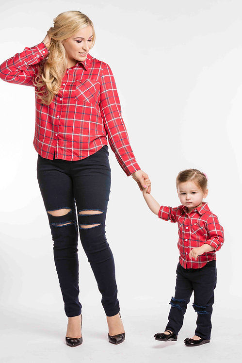 Country Gal & Country Girl Matching Shirts Set