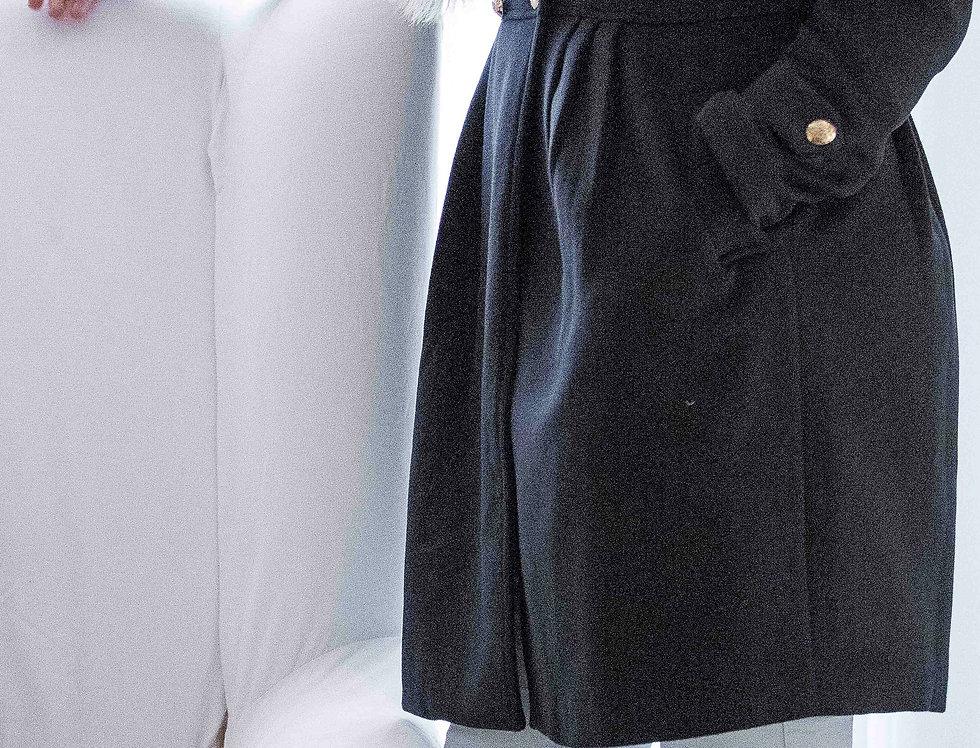 Women's Navy Coat