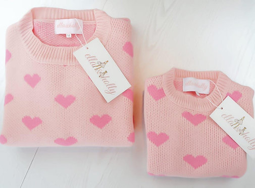 Wooly Mammy & Wooly Baby Jumper Set
