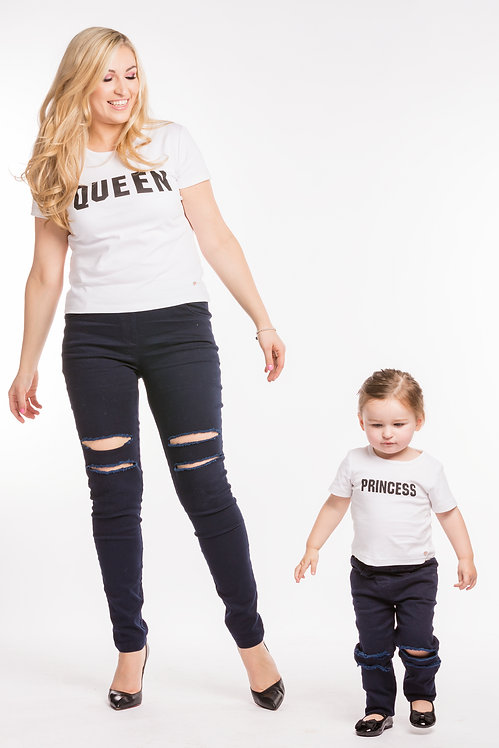 Queen & Princess T-Shirts Set