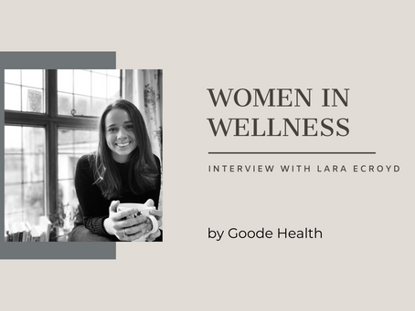 Women in Wellness: Lara Ecroyd