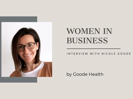 Women in Business: Nicole Goode
