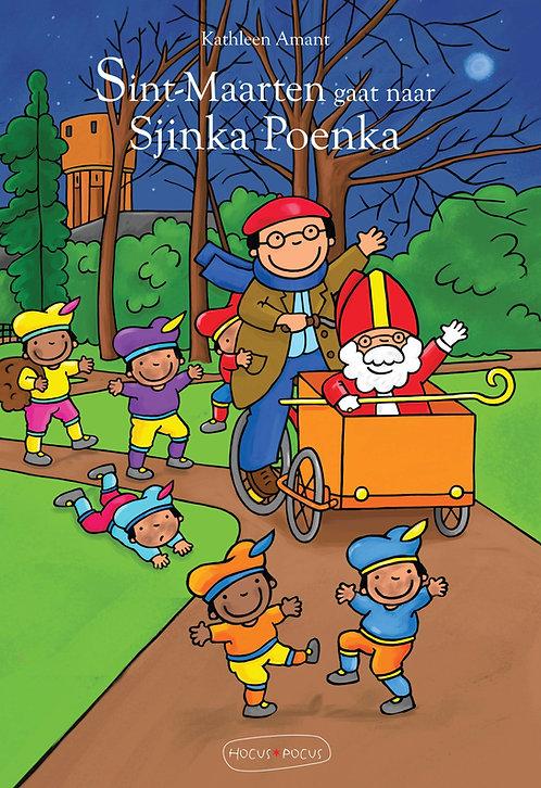 Prentenboek Sint-Maarten gaat naar Sjinka Poenka