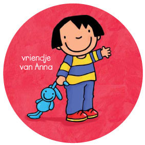 Stickers Vriendje van Anna