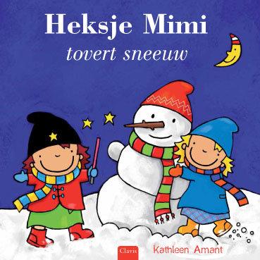 Heksje Mimi tovert sneeuw