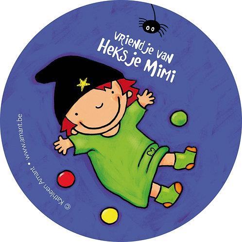 Stickers Vriendje van Heksje Mimi