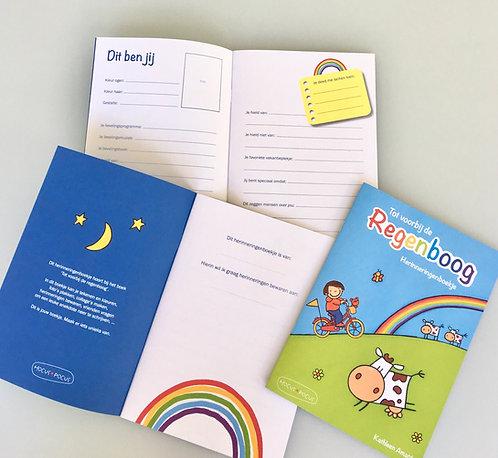 Herinneringenboekje 'Tot voorbij de regenboog'