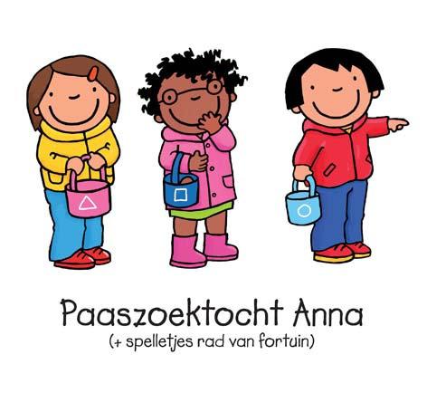 Paaszoektocht Anna + rad