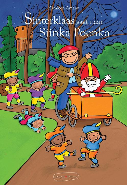 Prentenboek Sinterklaas gaat naar Sjinka Poenka