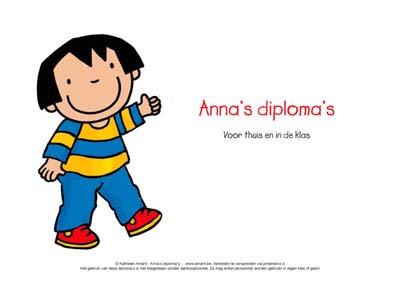 Anna's diploma's